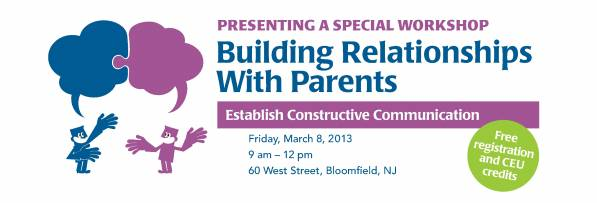 Building Relationships with Parents