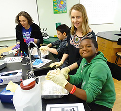 WBA students in new classrooms - private special education school in NJ
