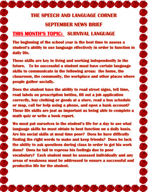speech about life of a student